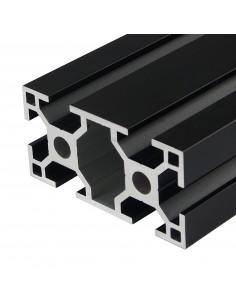 Aluminium profile ALTRAX 3060 T-SLOT 100cm - matt black