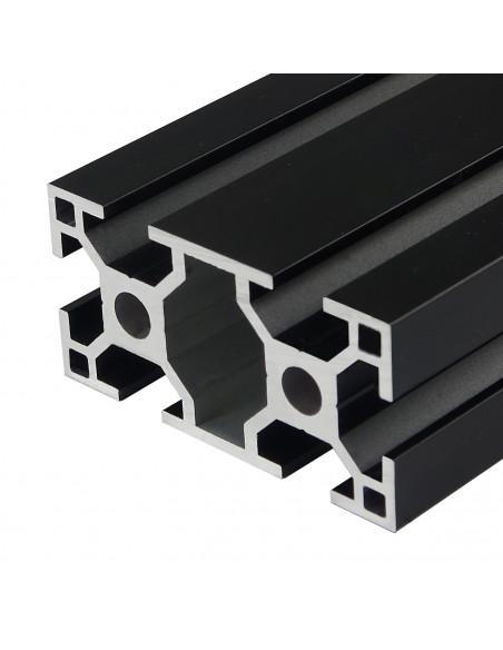 Profil aluminiowy ALTRAX 3060 T-SLOT 100cm - czarny mat
