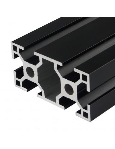 Profil aluminiowy ALTRAX 3060 T-SLOT 50cm - czarny mat