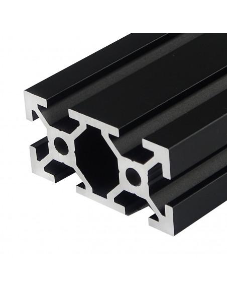 Profil aluminiowy ALTRAX 2040 T-SLOT 30cm - czarny mat