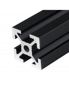 ALTRAX aluminium profile 2020 T-SLOT type - matt black