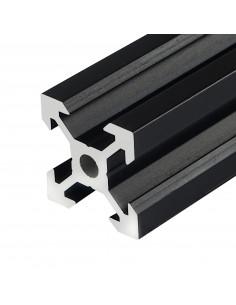 ALTRAX aluminium profile 2020 V-SLOT type 50cm - black