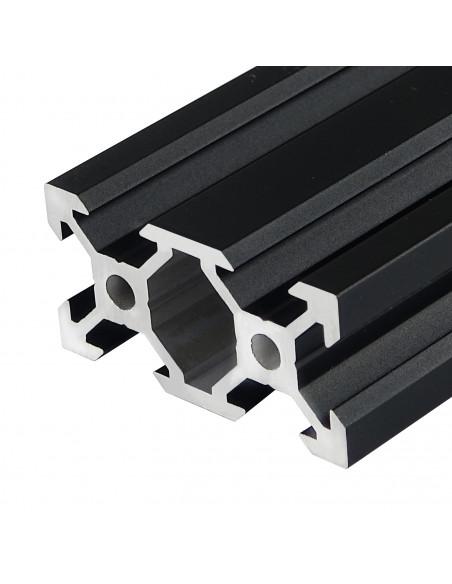 Profil aluminiowy ALTRAX 2040 V-SLOT 50cm - czarny mat