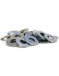 Flat washer 3,2mm (M3) DIN 125 ISO 7089 - galvanized