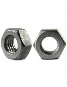 Hexagon nut M8 DIN 934 ISO 4032 - black