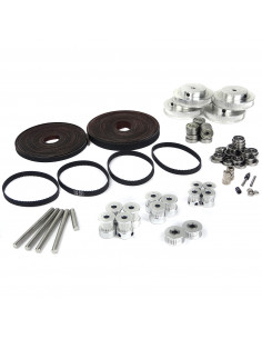 Timing belts and pulleys kit for VORON 2.4 - 350x350