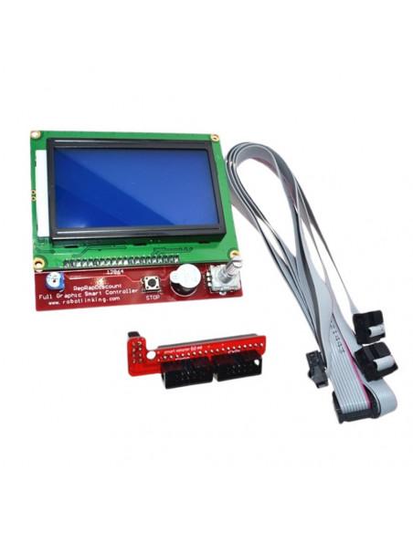 LCD 12864 control panel for RAMPS 1.4 RepRap