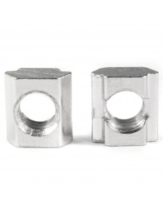 M8 slide-in T-nut for 8mm groove - 20 pcs.