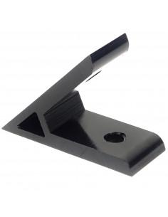 45° inside corner bracket - for 3030 profile - black