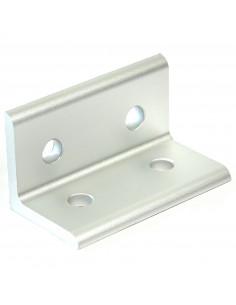 90° angle bracket for 3060 aluminium profile - silver