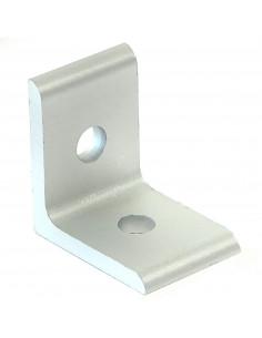 90° angle bracket - 25x25x18mm - silver