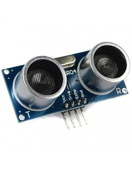 HC-SR04 czujnik ultradźwiękowy - arduino