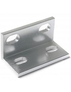 90° angle bracket for 2040 aluminium profile - silver