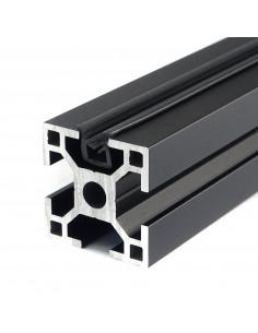 Gasket strip for 3030 profile - black - 1m