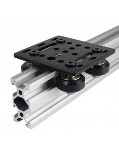 V-SLOT trolley - 65mm x 65mm - black