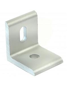 Złącze kątowe 90° - 30x30x26mm - srebrne