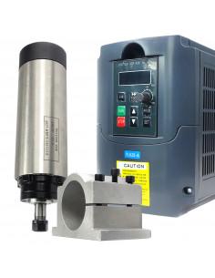 Zestaw CNC - wrzeciono 0.8kw ER11 z inwerterem i uchwytem 65mm