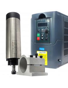 Zestaw CNC - wrzeciono 1.5kw ER11 z inwerterem i uchwytem 65mm