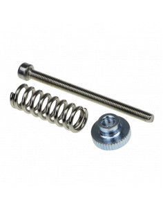 Leveling table screws 3d printer hotbed
