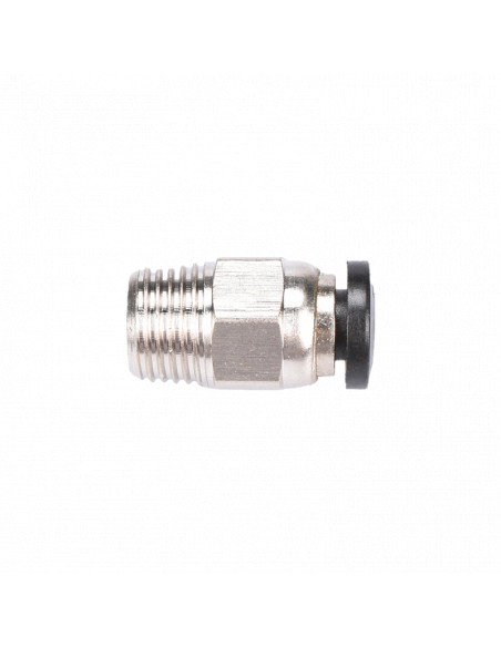 Quick connector M10 for PTFE pipe