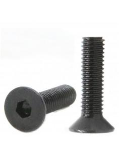 Socket Head Countersunk Screw M4x10mm DIN 7991- black