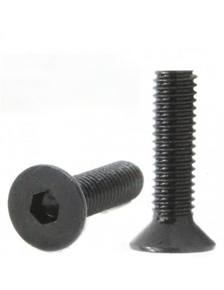 Śruba imbusowa stożkowa M3x10mm DIN 7991 - czarna