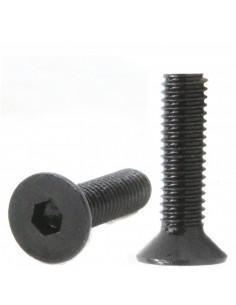 Socket Head Countersunk Screw M3x16mm DIN 7991- black