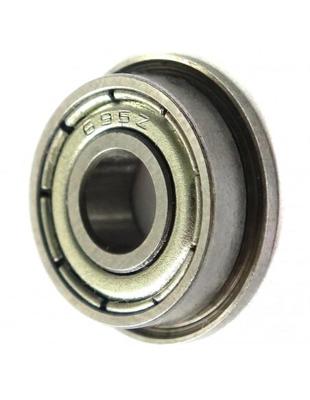 Flanged bearing F695ZZ 5x15x4 mm