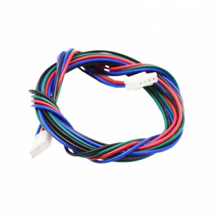 Kabel silnika krokowego 50 cm XT2.5 4pin 6pin Druk 3D