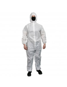 """Painting protective coverall - white """"L"""""""