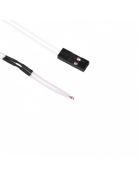 Termistor NTC 3950 100K szklany do 300st kabel 1m