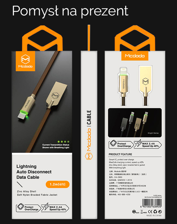 Kabel lightning do Apple iPhone iPad